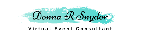 Donna R Snyder- Virtual Event Consultant